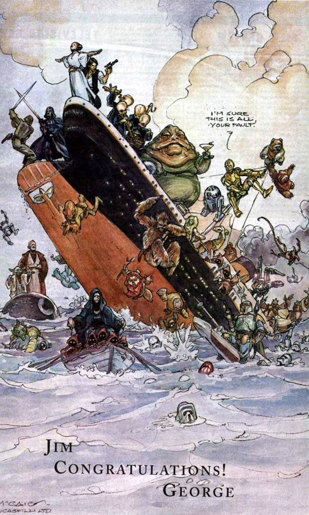 Star-Wars-VS-Titanic-The-drawing-George-Lucas-has-sent-to-James-Cameron.jpg